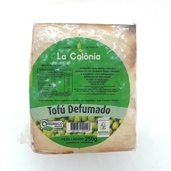 Tofu LA COLÔNIA Orgânico Defumado 250G