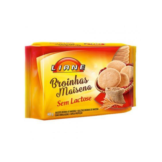 Biscoito LIANE Broinha Maisena Sem Lactose 400g