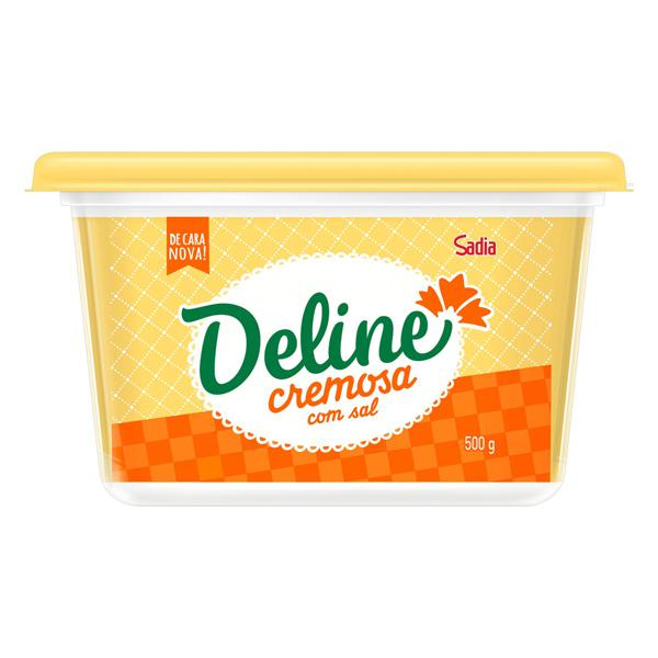 Margarina Cremosa com Sal Deline Pote 500g