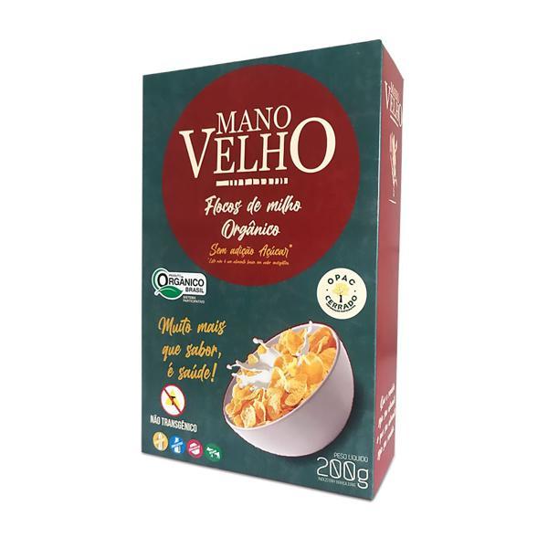 Cereal Matinal Orgânico (sem açúcar)