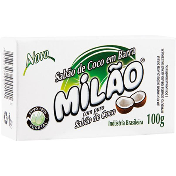 Sabão de Coco MILÃO Barra 100g