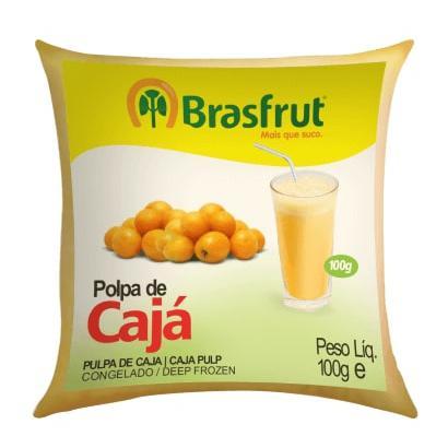 Polpa de Fruta BRASFRUT Cajá 100g
