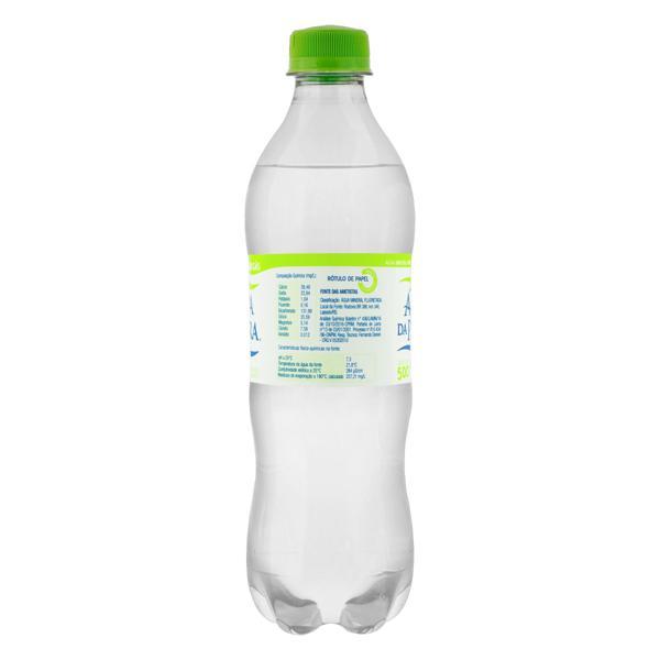 Água Mineral Natural com Gás Água da Pedra Garrafa 500ml