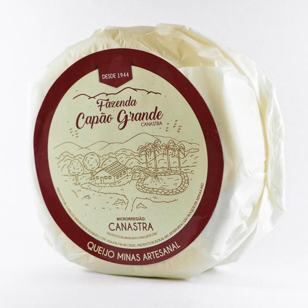 Queijo canastra Fazenda Capão Grande (Solange) - meia peça *medalha bronze Mondial du Fromage*