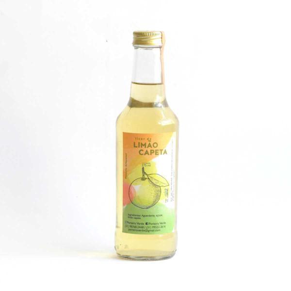 Licor de Limão Capeta 275ml - Porteira Verde