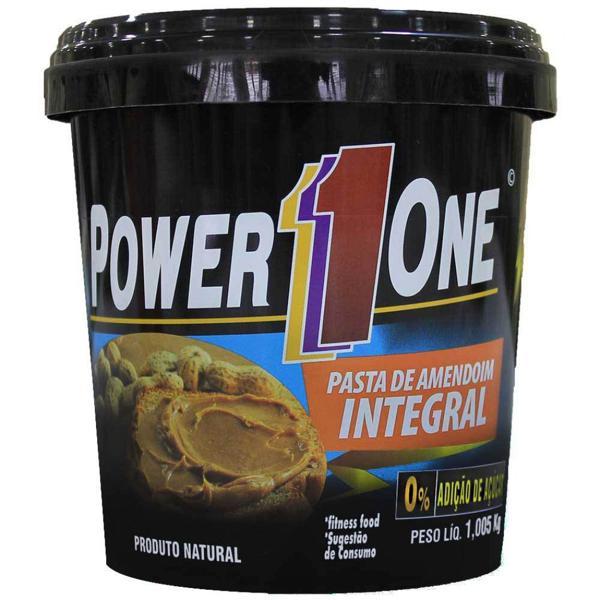 Pasta De Amendoim Power One 1,005Kg Integral Tradiciona