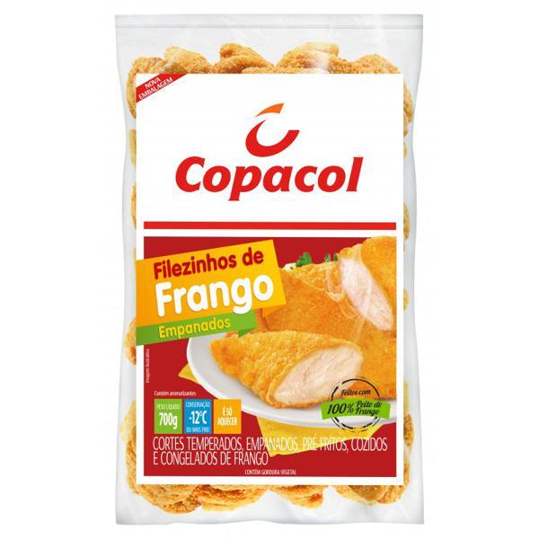 Filezinho De Frango 700G Copacol Empanado