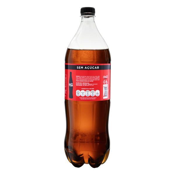 Refrigerante sem Açúcar Coca-Cola Zero Garrafa 2l
