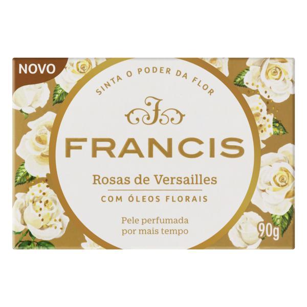 Sabonete em Barra Rosas de Versailles Francis Caixa 90g