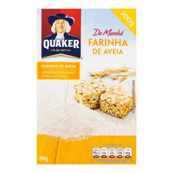 Farinha de Aveia Quaker Caixa 200g