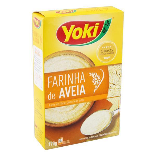 Farinha de Aveia Yoki Caixa 170g