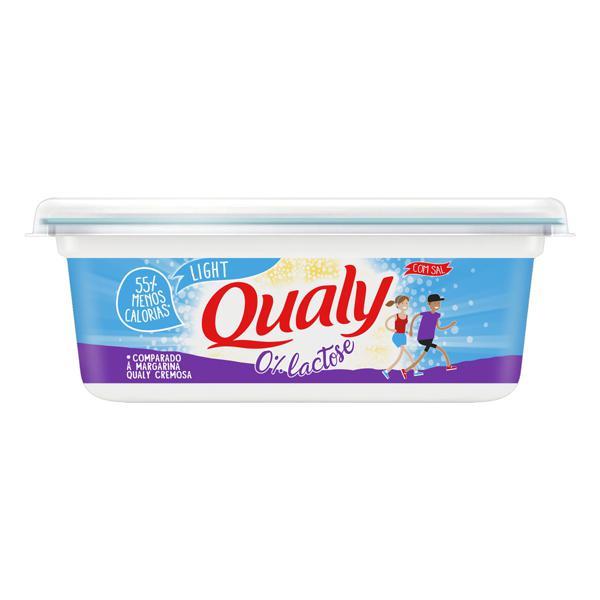 Margarina com Sal Light Zero Lactose Qualy Pote 250g