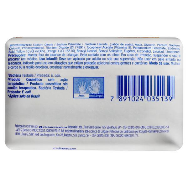 Sabonete em Barra Antibacteriano Protex Vitamina E Cartucho 85g