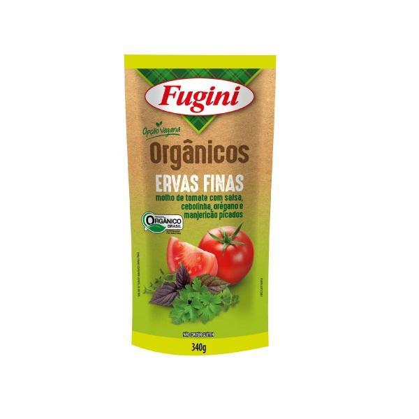Molho de Tomate Orgânico Ervas Finas 340g - Fugini