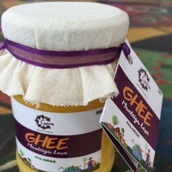 Manteiga Ghee caseira 180g