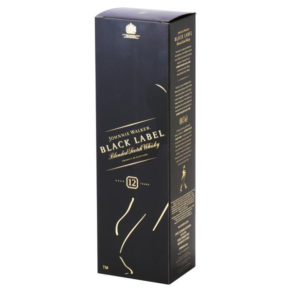 Whisky Escocês Blended Johnnie Walker Black Label Garrafa 750ml