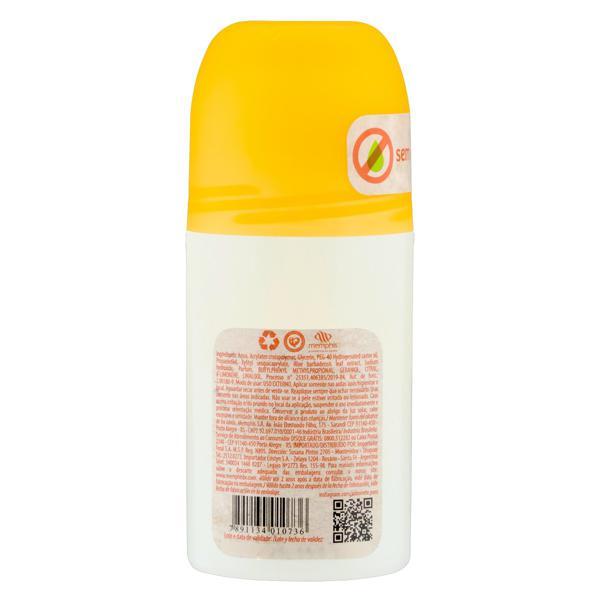 Desodorante Roll-On Vegetal Bergamota Memphis Puro 60ml