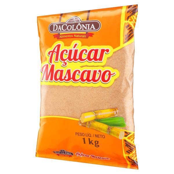 Açúcar Mascavo DaColônia Pacote 1kg