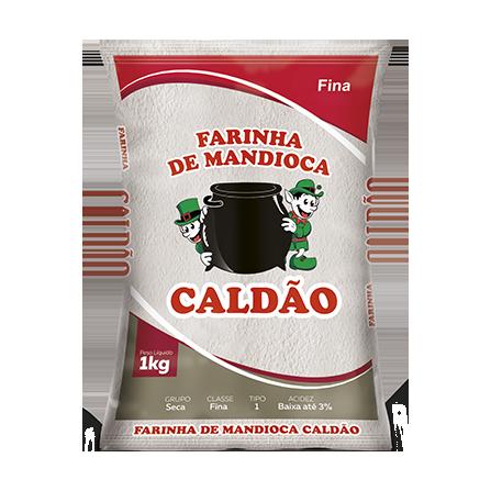 Farinha Mandioca Caldao 1Kg