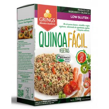 Quinoa Fácil Vegetais Grings 100g