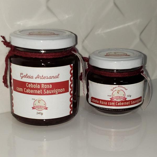 Geleia de Cebola Roxa com Cabernet 120g - Amanda Sales Confeitaria