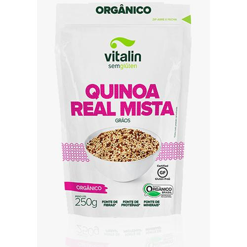 Quinoa em graos mista 250g