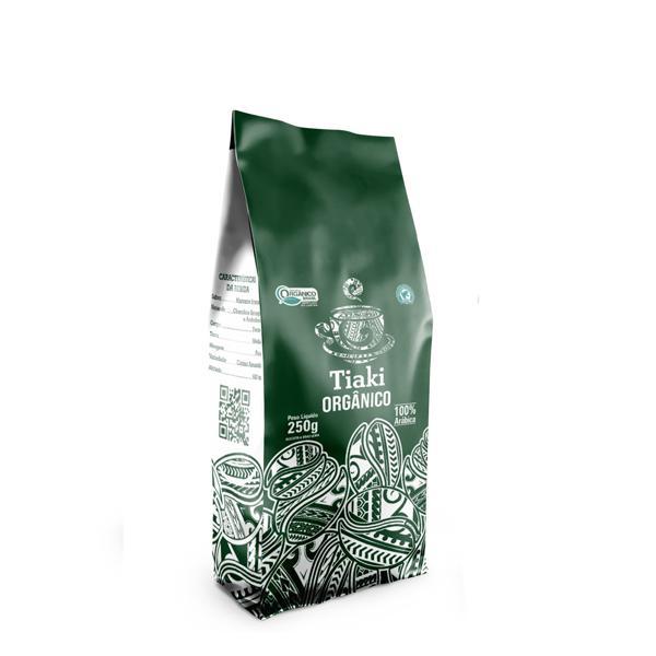 Café Gourmet em Grãos Orgânico 250g - Tiaki