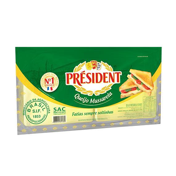 Queijo Mussarela Fat 300G President
