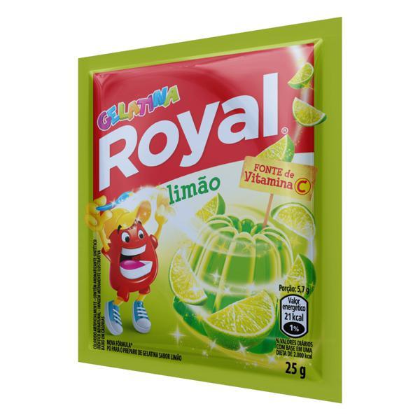 Gelatina em Pó Limão Royal Pacote 25g