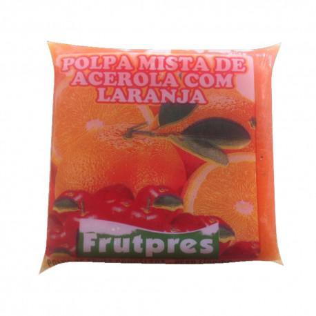 Polpa de Fruta FRUTPRES Integral Laranja e Acerola 100g
