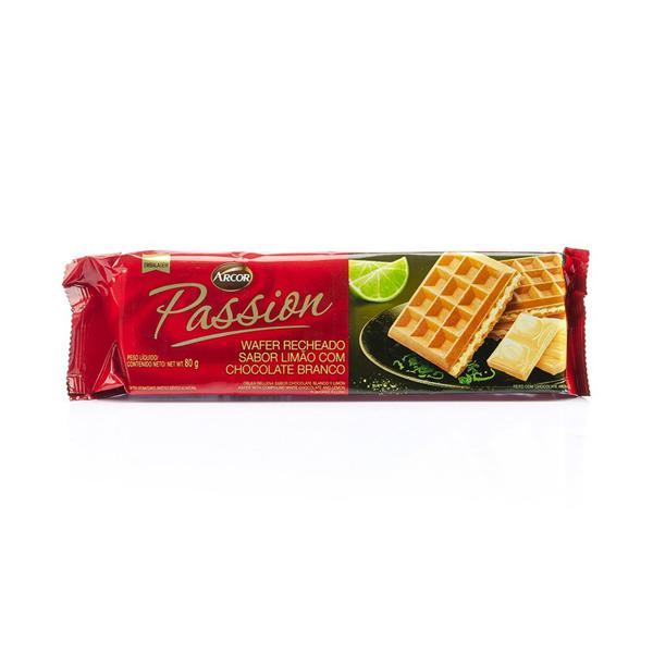 Biscoito Wafer ARCOR Passion Limão 80g