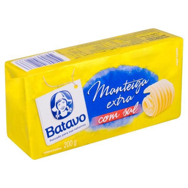 Manteiga com Sal Batavo 200g