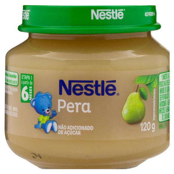 Papinha Pera Nestlé Vidro 120g