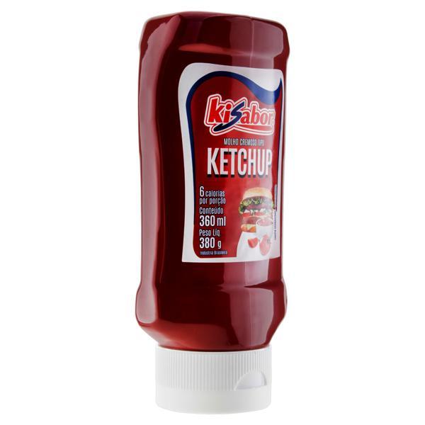 Ketchup Tradicional Kisabor Squeeze 380g