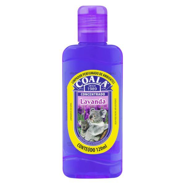 Limpador Perfumado Concentrado Lavanda Coala Squeeze 120ml