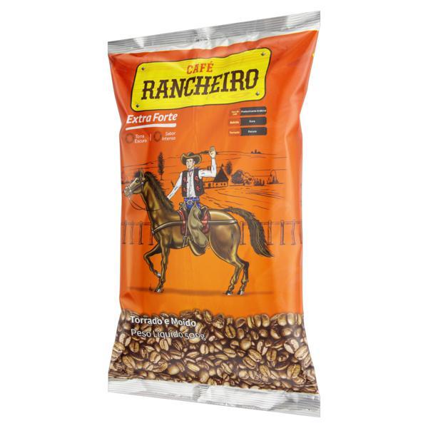 Café Torrado e Moído Extraforte Café Rancheiro Pacote 500g