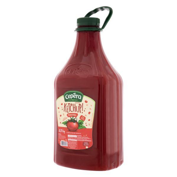 Ketchup Tradicional Cepêra Frasco 3,5kg
