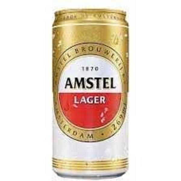 Cerveja AMSTEL Puro Malte Lata 269ml