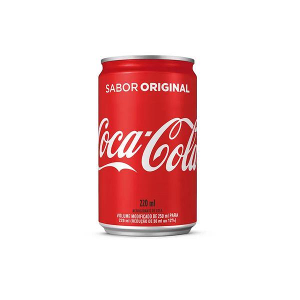 Refrigerante 220Ml Lt Coca Cola Mini Tradic