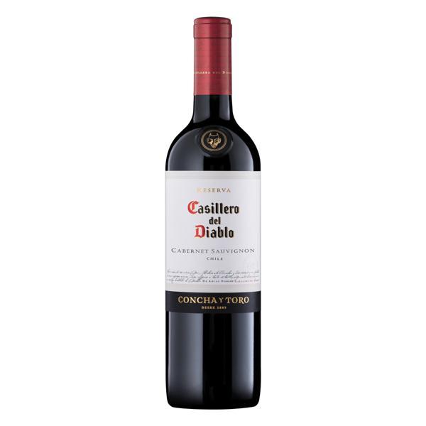 Vinho Chileno Tinto Reserva Casillero del Diablo Cabernet Sauvignon Valle Central Garrafa 750ml