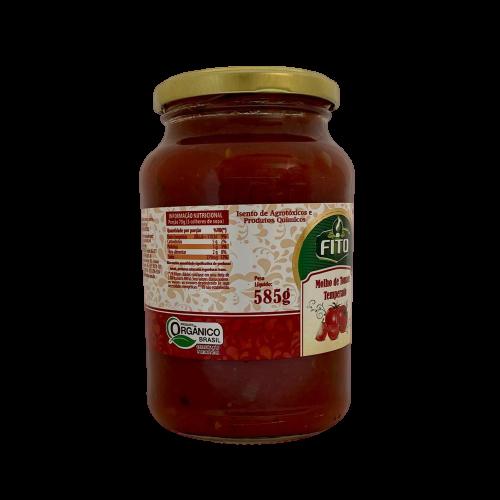 Molho de Tomate Temperado Fito 585g