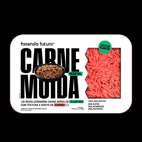 Carne Fazenda Futuro 270G Moida Vegetal
