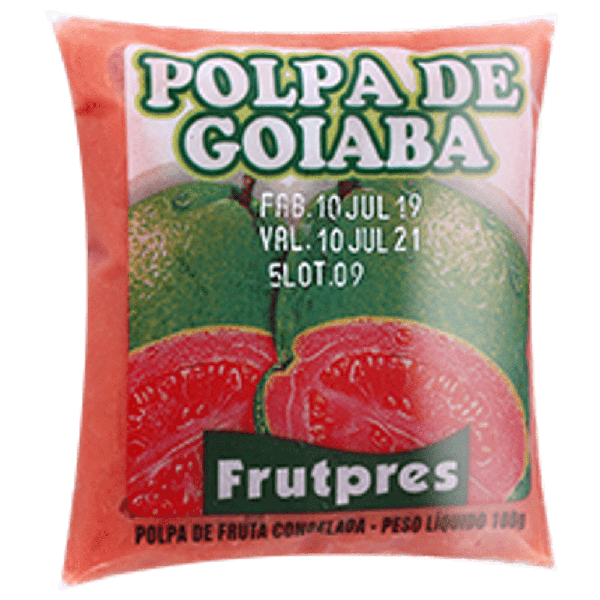 Polpa de Frutas FRUTPRES Goiaba 100g