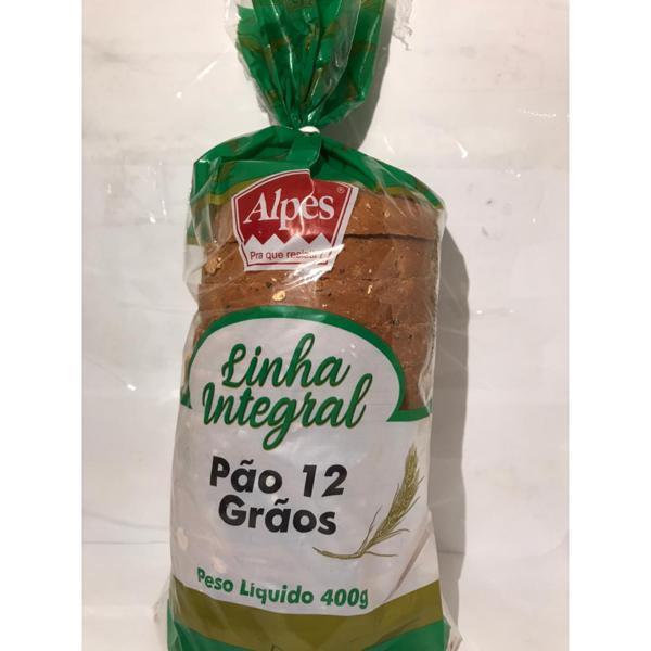 Pão ALPES 12 Grãos 400g