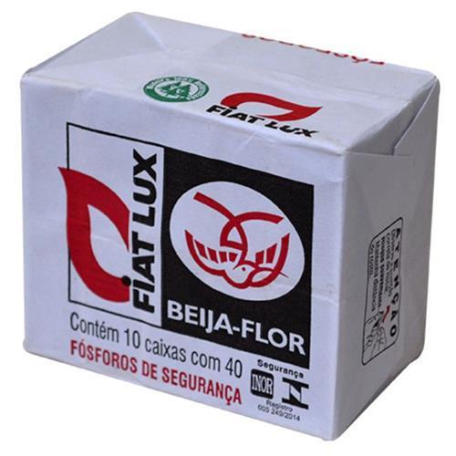 Fósforo Fiat Lux 40X1 Tradicional Beija-Flor