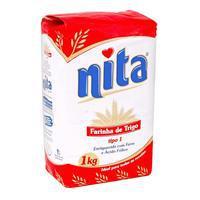 Farinha de  Trigo Nita Tradicional 1Kg