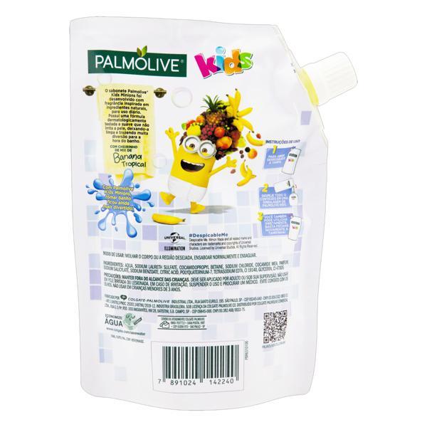 Sabonete Líquido Mix de Banana Tropical Meu Malvado Favorito Palmolive Kids Sachê 200ml Refil