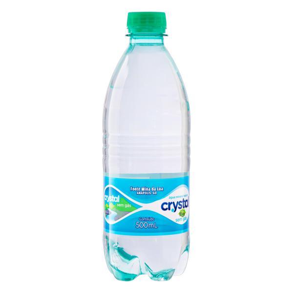 Água Mineral Natural sem Gás Acqua Lia Crystal Garrafa 500ml