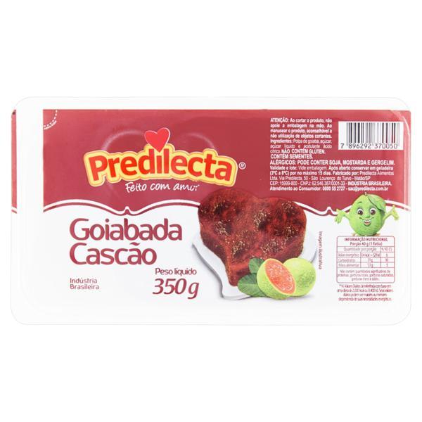 Goiabada Cascão Predilecta Bandeja 350g