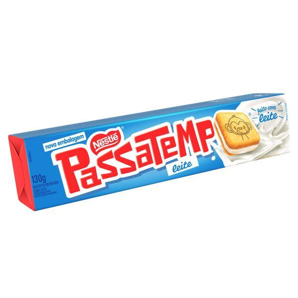 Biscoito Recheio Leite Nestlé Passatempo Pacote 130g